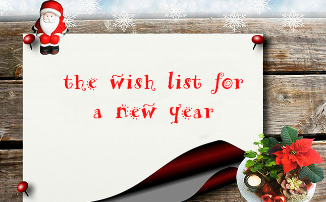 890d2d1162c The wish list for a new year - Enric Arola English version