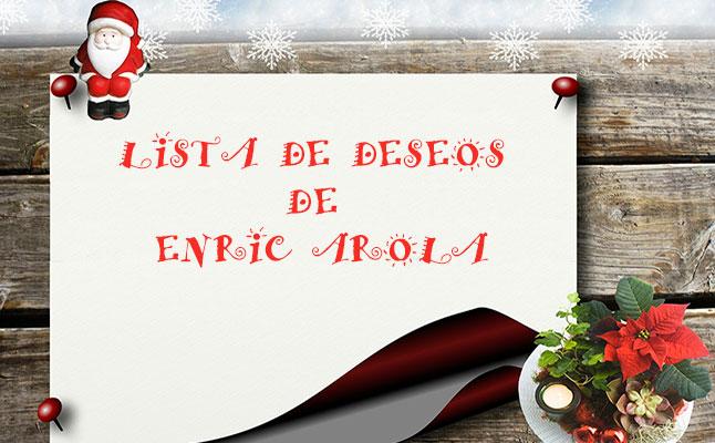La lista de deseos para un nuevo año